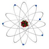 3d übertragen vom Atom Lizenzfreies Stockbild