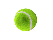 3D übertragen vom grünen Tennisball Lizenzfreies Stockbild