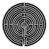 3d übertragen vom Labyrinth Stockbild