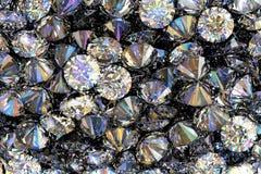 3D übertragen von den kostbaren Diamanten stock abbildung