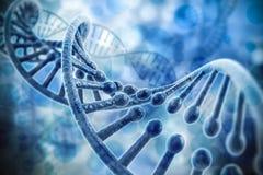 3d übertragen von DNA-Struktur Stockfoto