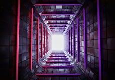 3d übertrug Tunnel lizenzfreie stockbilder