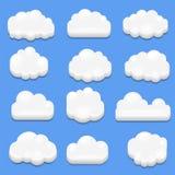 3d вектор - абстрактное облако иллюстрация штока