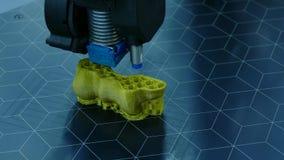 печать принтера 3D акции видеоматериалы