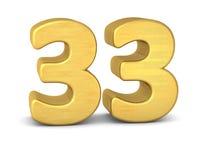 3d золото 33 бесплатная иллюстрация