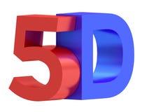 3D иллюстрация, цифровая концепция технологии индустрии кино 3D иллюстрация вектора