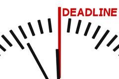 Комплекс предпусковых операций часов к крайнему сроку r иллюстрация вектора