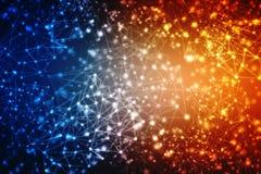 2d концепция общины сети иллюстрации Мультимедиа, концепция сетевого подключения иллюстрация вектора