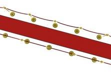 3d: Красный ковер с опорами для премьеры кино Стоковые Изображения