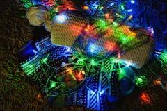 2d Новый Год графика designe компьютера рождества карточки Стоковая Фотография