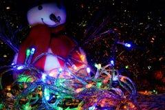 2d Новый Год графика designe компьютера рождества карточки Стоковые Изображения