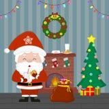 2d Новый Год графика designe компьютера рождества карточки E r иллюстрация штока