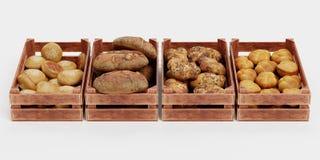 3D представляют набора пекарни бесплатная иллюстрация