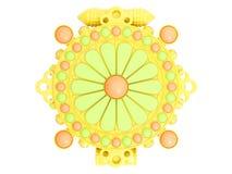 3d представляют пластичный талисман стоковые фотографии rf