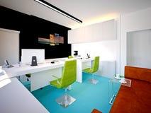 3d представляют современной комнаты деятельности Стоковые Изображения RF