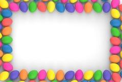 3d представляя пестротканые пасхальные яйца стоковые изображения rf