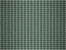 3d представило абстрактную предпосылку с зеленой картиной tracery Стоковые Фотографии RF