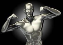3d представило иллюстрацию человека с выражением Стоковые Фото