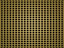 3d представило предпосылку золота с картинами Стоковое Изображение