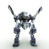 3d представило mech изолированную предпосылку Стоковая Фотография RF