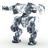 3d представило mech изолированную предпосылку Стоковые Фотографии RF