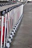 3d представляют вагонетки багажа Стоковое Фото