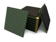 Изолированный блок решетки шарика Стоковое фото RF