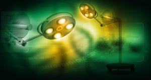 3d представляют хирургических ламп бесплатная иллюстрация