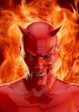 Дьявол иллюстрация штока