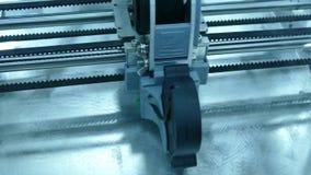 печать принтера 3D сток-видео
