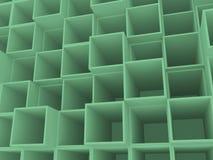 3d раскрывают коробки Стоковое Фото