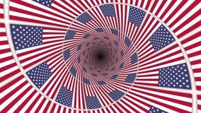 3d флаг США
