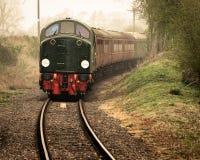 D306与教练火车的大西洋传动机  库存照片