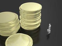 3D财务的例证 向量例证