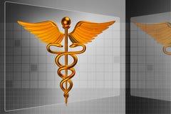 3d医疗商标 库存照片