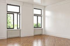 3d - 空的室-公寓 库存照片
