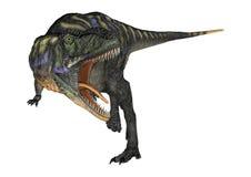 3D翻译在白色的恐龙奥卡龙 免版税库存图片