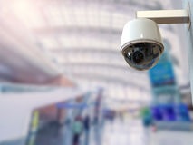 3d翻译安全监控相机或cctv照相机 库存照片