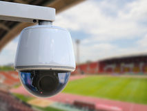 3d翻译安全监控相机或cctv照相机 免版税库存图片