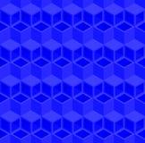 Абстрактная предпосылка картины трубы куба 3d иллюстрация вектора