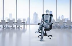 自动化工作者概念 向量例证