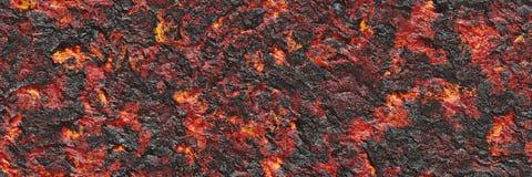 Файл безшовной магмы большой Разрушьте жидкий жидкий металл стоковая фотография