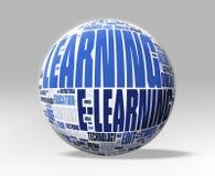 3D уча глобус Стоковая Фотография RF