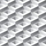 抽象3D无缝的样式 皇族释放例证
