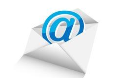 邮件3d  免版税库存图片