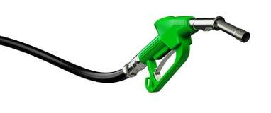 3d回报侧视图的燃料喷嘴泵 免版税库存照片