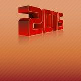 2015 3D Immagini Stock Libere da Diritti