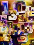 номера иллюстрации предпосылки 3d представили Стоковые Фотографии RF