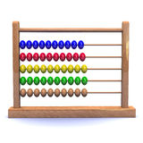 3d Abacus Royalty Free Stock Image