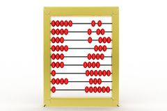 3d abacus Royalty Free Stock Photos